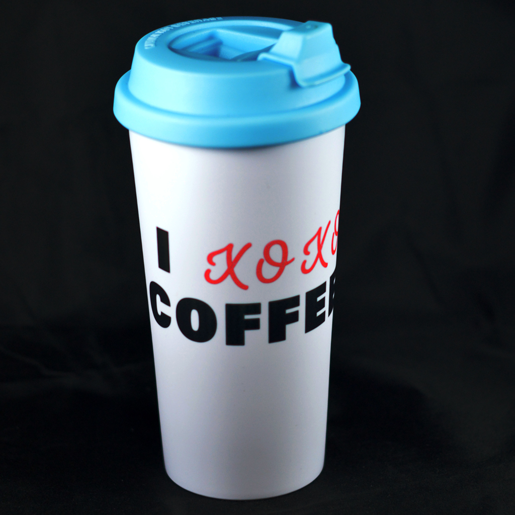 I XOXO Coffee - Double Wall Tumbler - Aspireimaginary