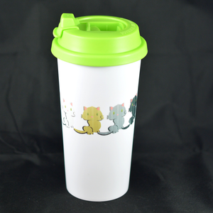 Kitten - Double Wall Tumbler - Aspireimaginary