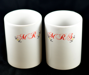 Mr. and Mrs.  - Mugs - Aspireimaginary