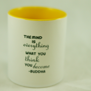 "Buddha's ""Mind is Everything"" Quote Mug - Aspireimaginary"