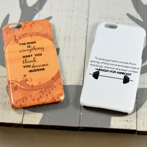 "Buddha's ""Mind is Everything"" Quote (Music) Phone Case - Aspireimaginary"