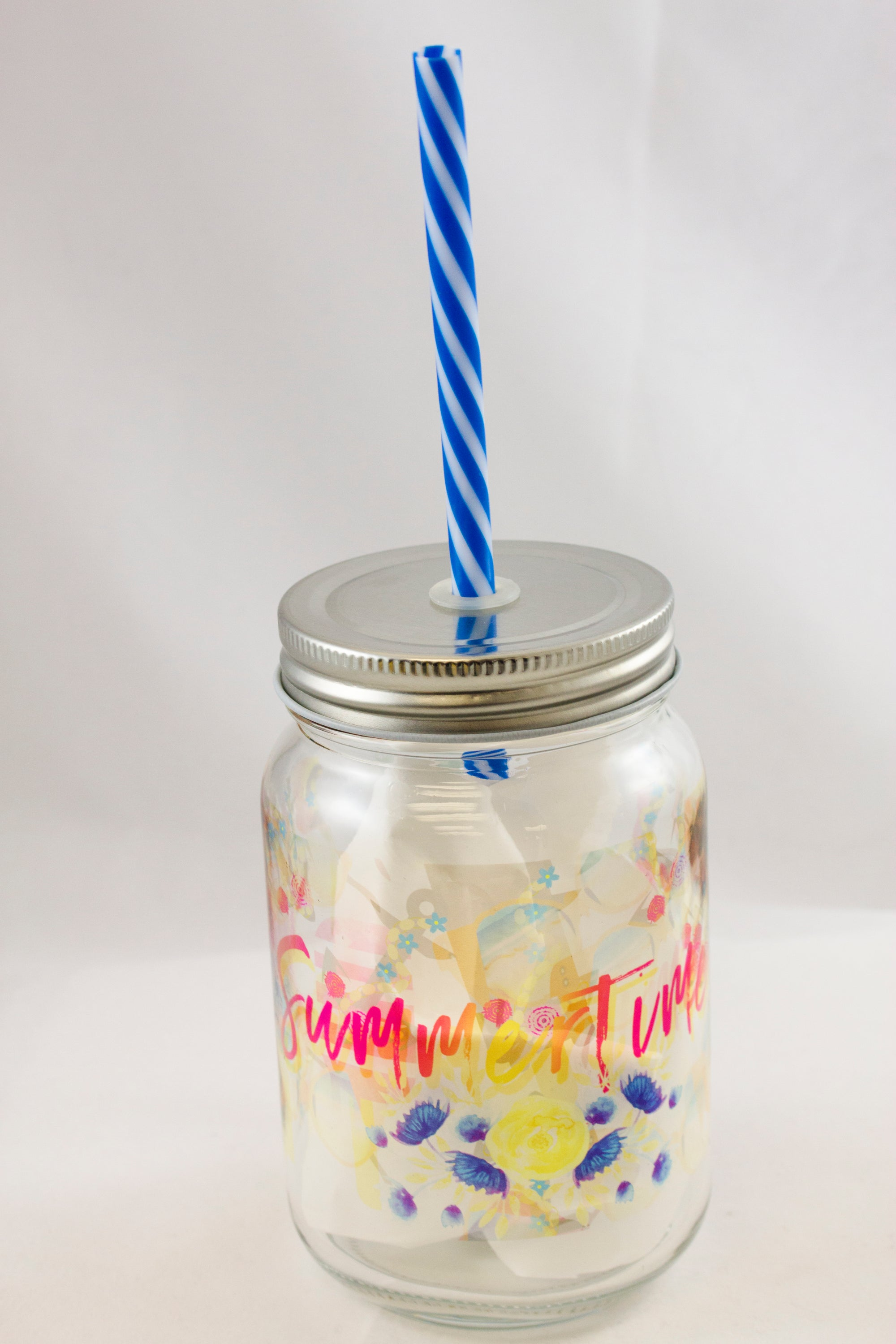 Summertime Mason Jar - Aspireimaginary
