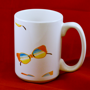 Sunglasses Mug - Aspireimaginary