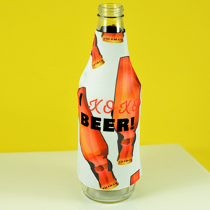 I XOXO Beer - Bottle Hugger - Aspireimaginary