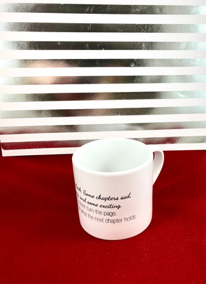 """Life is Like A Book"" Quote Mug - Aspireimaginary"
