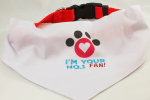 I'm Your No. 1 Fan-Dog Scarf - Aspireimaginary