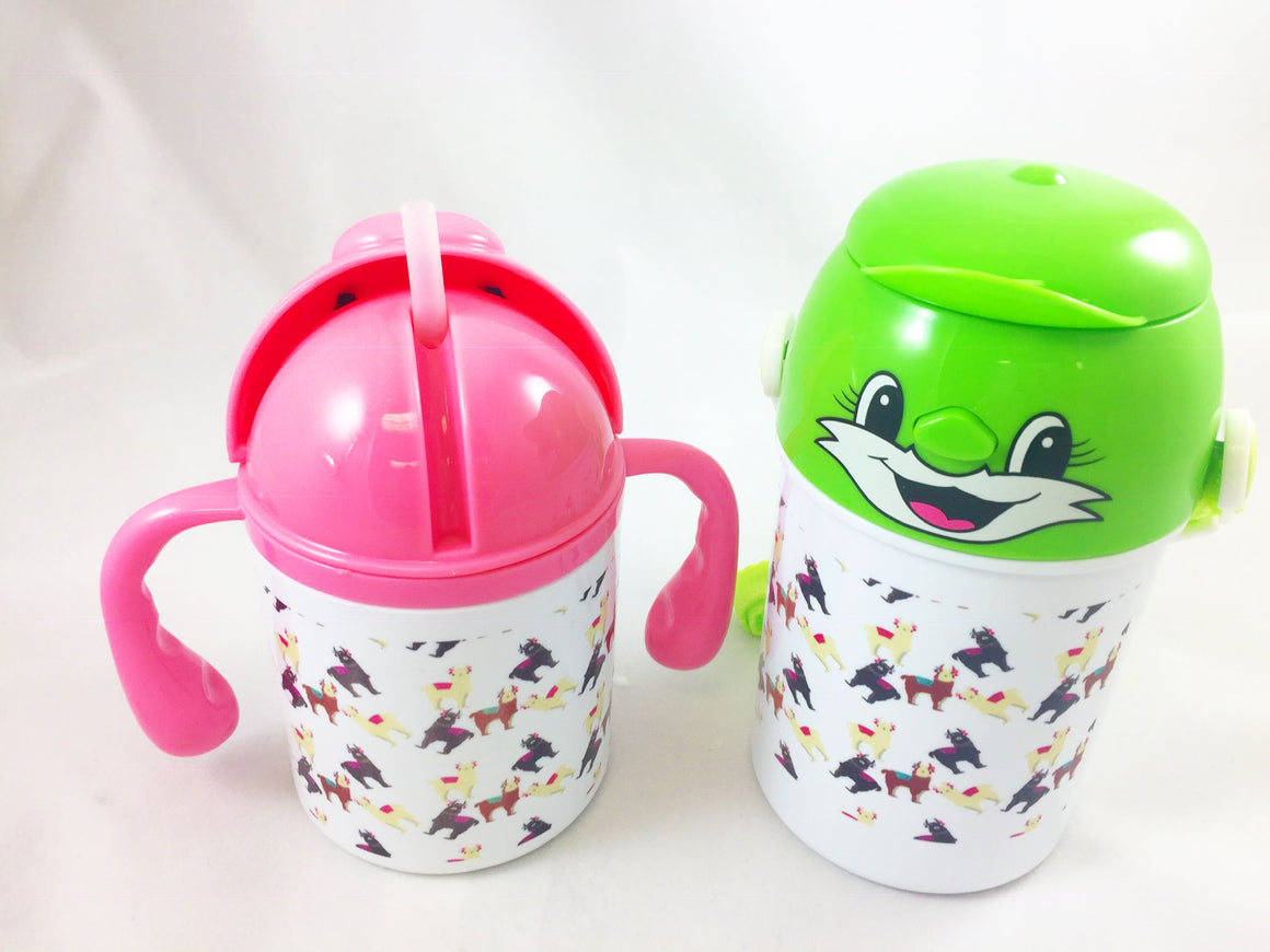 Cute Llama - Children's Water Bottle
