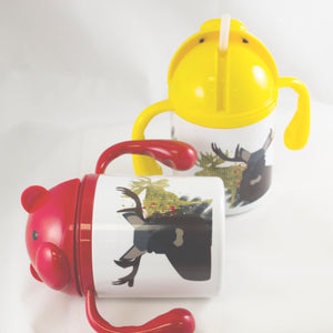 Golden Moose - Children's Water Bottle - Aspireimaginary
