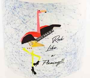 Rock Like A Flamingo Mug - Aspireimaginary