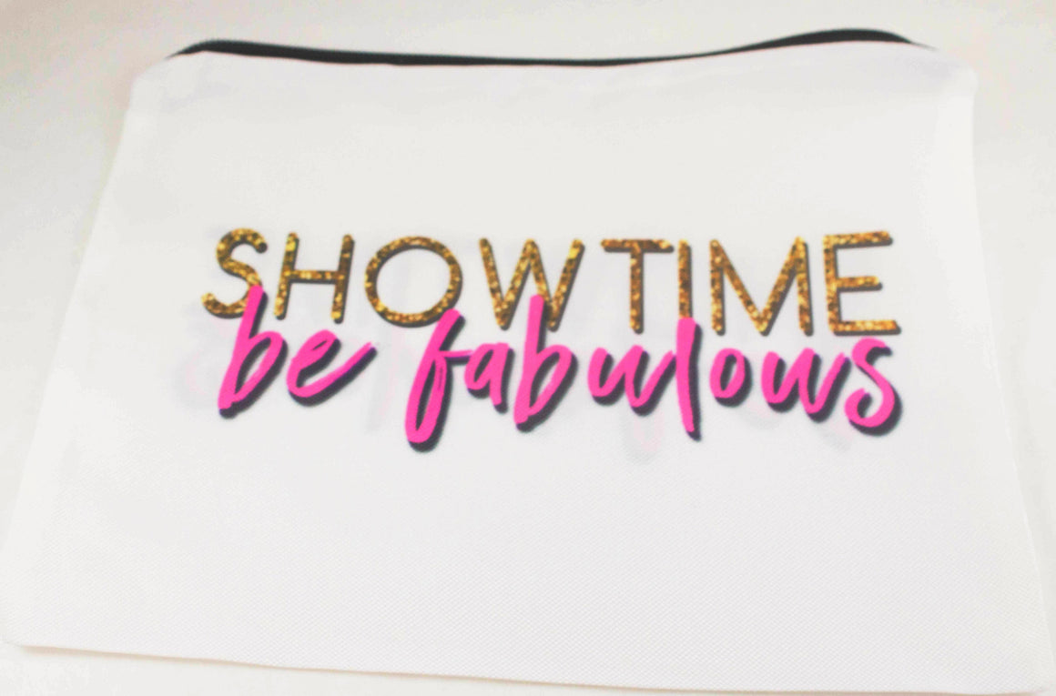 Showtime Be Fabulous Travel Bag/Mini Organize Pencil Case - Aspireimaginary