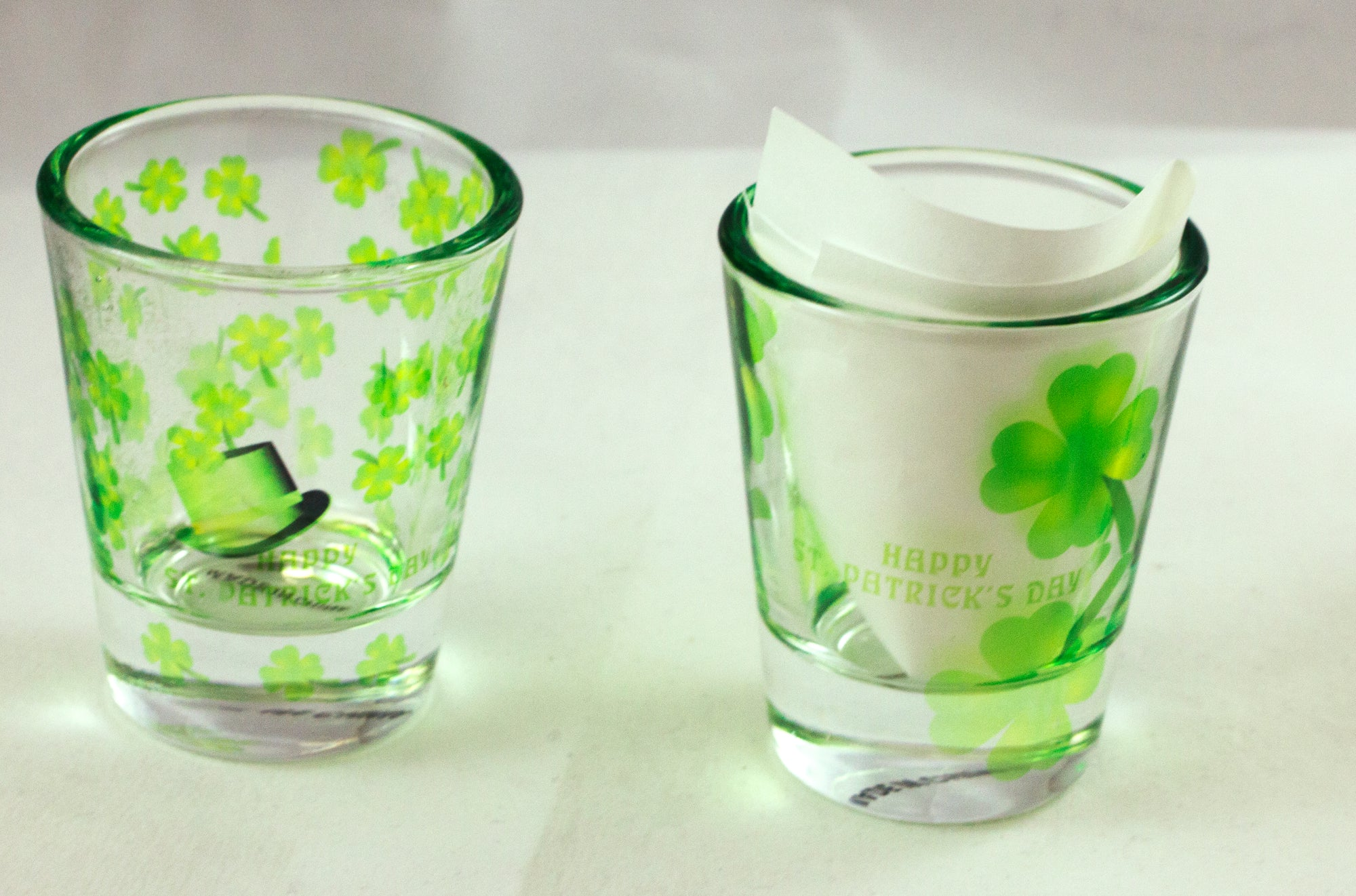 St. Patrick's Day Shotglass - Aspireimaginary