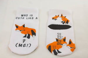 Cute Like A Fox aka Me-Toddler Sock