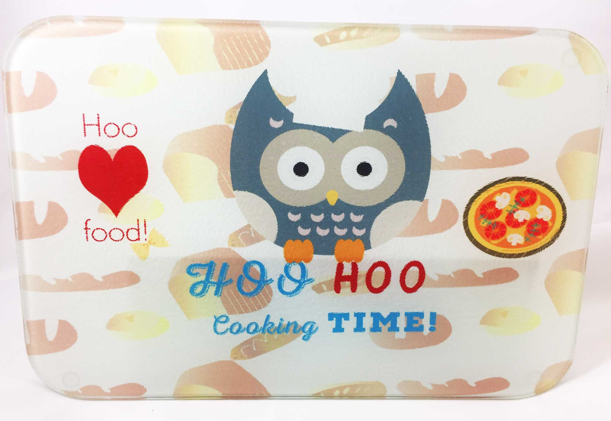 hoo cooking time-Cutting Board - Aspireimaginary