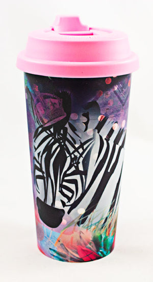 Zebra- Double Wall Tumbler - Aspireimaginary