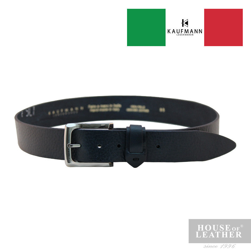 KAUFMANN Lorenzo 13399/40 Belt - Navy Blue - Leatherhouse2u