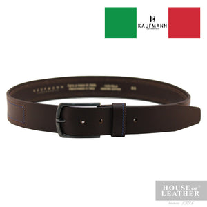 KAUFMANN Lorenzo 13400/40 Belt - Brown - Leatherhouse2u