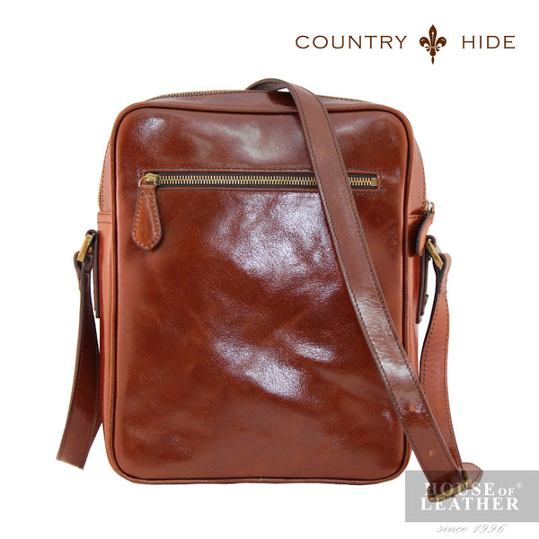 COUNTRY HIDE Austin 2195 Sling Bag - Brown - Leatherhouse2u  - 3