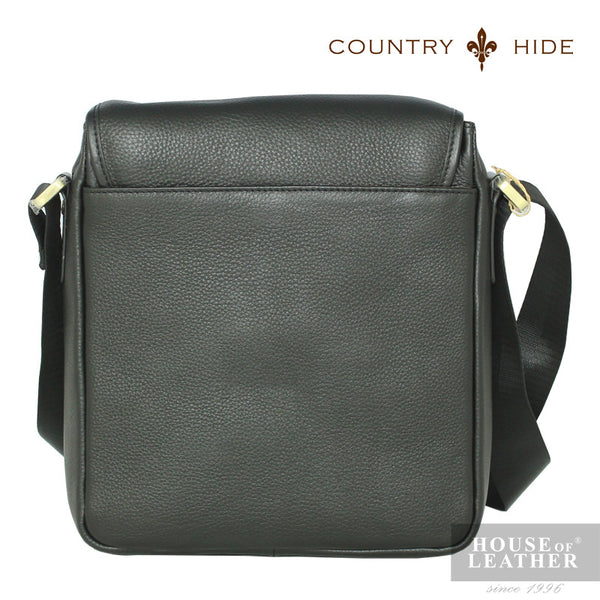 COUNTRY HIDE Criss 2200 Sling Bag - Black - Leatherhouse2u  - 3