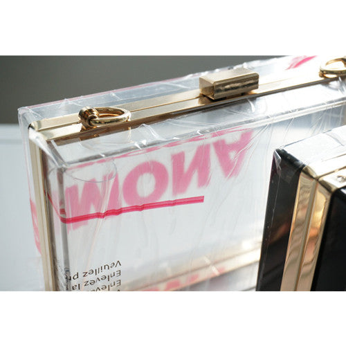 Transparent Clear Acrylic Perspex Box - Transparent - Leatherhouse2u  - 2