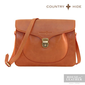 COUNTRY HIDE Freda 8082 Sling Bag - Brown - Leatherhouse2u  - 1
