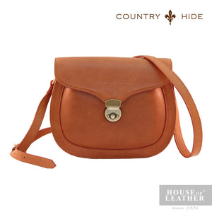 COUNTRY HIDE Freda 8083 Sling Bag - Brown - Leatherhouse2u  - 1
