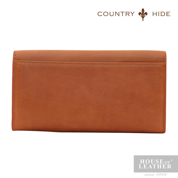 COUNTRY HIDE Freda 8085 Clutch Bag - Brown - Leatherhouse2u  - 3