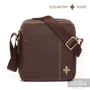 COUNTRY HIDE Tucano 92049 Sling Bag - Brown - Leatherhouse2u  - 1