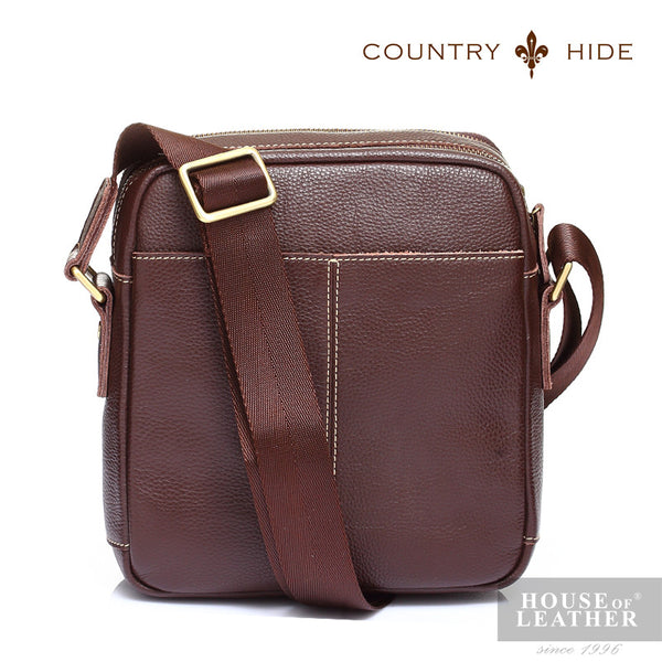 COUNTRY HIDE Tucano 92049 Sling Bag - Brown - Leatherhouse2u  - 2