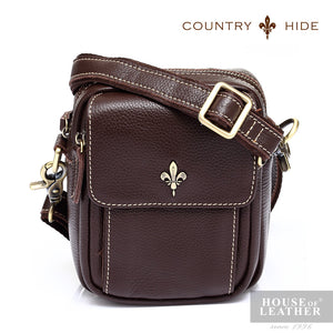 COUNTRY HIDE Tucano 92053 Pouch - Brown - Leatherhouse2u  - 1
