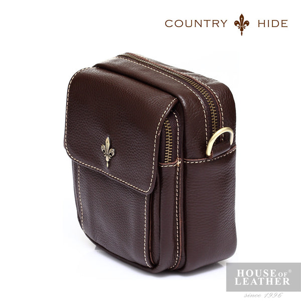 COUNTRY HIDE Tucano 92053 Pouch - Brown - Leatherhouse2u  - 2
