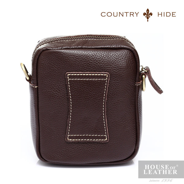 COUNTRY HIDE Tucano 92053 Pouch - Brown - Leatherhouse2u  - 3