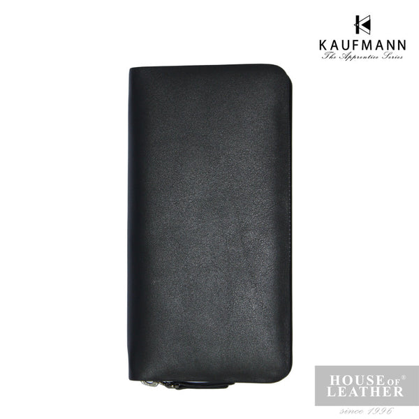 KAUFMANN James AXI-432-2608 Clutch Bag - Dark Blue - Leatherhouse2u  - 2