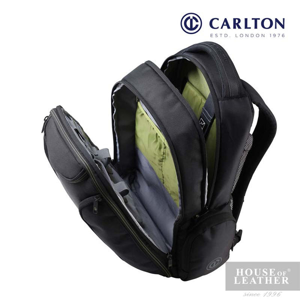 CARLTON Hampton III Laptop Backpack - Black