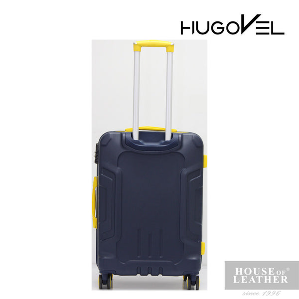 HUGOVEL Megatron HV-02 Trolley Case - Dark Blue - Leatherhouse2u  - 4