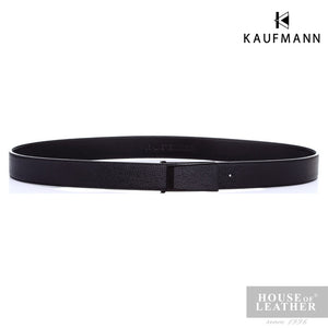 KAUFMANN Carter HY01 Belt - Black - Leatherhouse2u