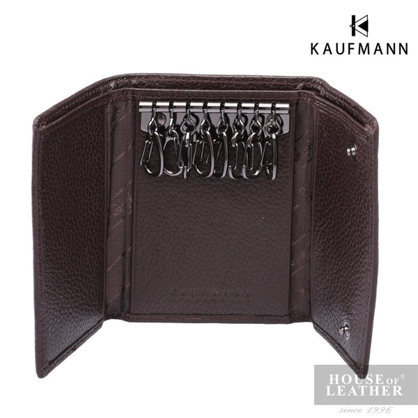 KAUFMANN Genesis K6145-1 Key Holder - Brown - Leatherhouse2u  - 3