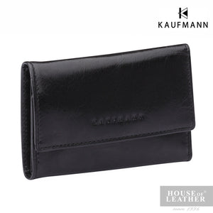 KAUFMANN Genesis K6145-2 Key Holder - Black - Leatherhouse2u  - 1