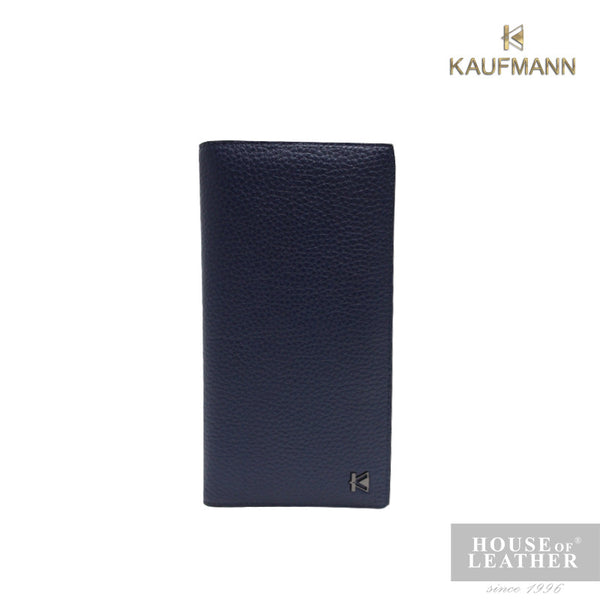 KAUFMANN BIEBER YS-48-28-1796 LONG WALLET - BLUE