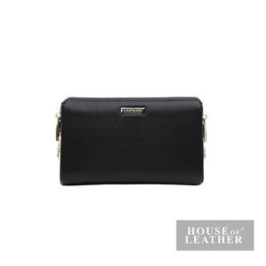 KAUFMANN KEN YS-30-36-1848 CLUTCH BAG -  BLACK