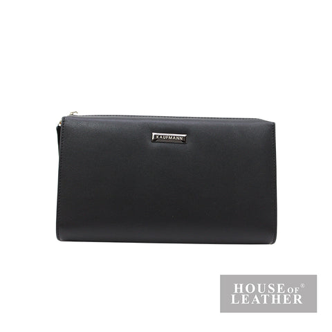 KAUFNANN KEN YS-30-36-1849 CLUTCH BAG - BLACK