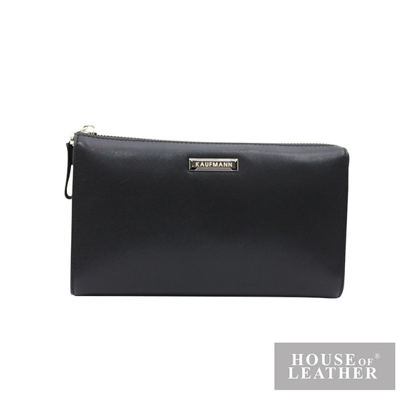 KAUFMANN KEN YS-30-36-1850 CLUTCH BAG - BLACK