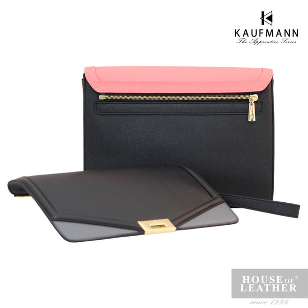 KAUFMANN Sydney KLB0001-5 Clutch Bag With Sling - Pink - Leatherhouse2u  - 2