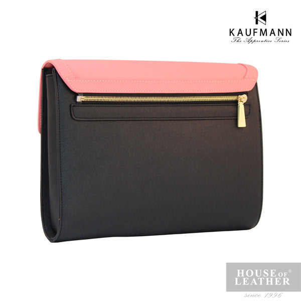 KAUFMANN Sydney KLB0001-5 Clutch Bag With Sling - Pink - Leatherhouse2u  - 3