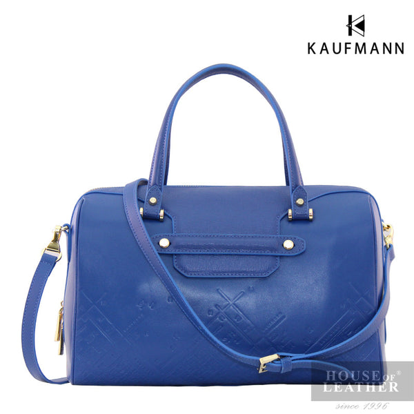 KAUFMANN Vesper KLB0006-2 Handbag With Sling - Blue - Leatherhouse2u  - 1