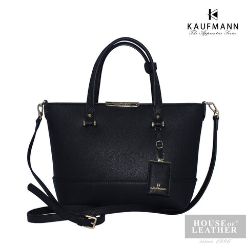 KAUFMANN Harper 2 KLB0008-2 Handbag With Sling (XS) - Black - Leatherhouse2u  - 1