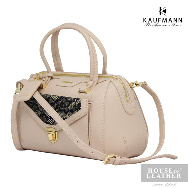 KAUFMANN Stacey KLB0009-2 Handbag With Sling - Beige - Leatherhouse2u  - 2
