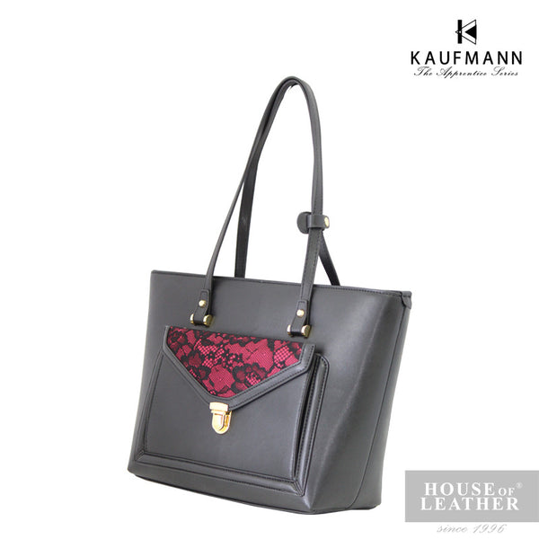 KAUFMANN Stacey KLB0009-4 Shoulder Bag - Black - Leatherhouse2u  - 3