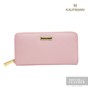 KAUFMANN VICTORIA II YS-49-28-1661 LONG WALLET W ZIP - LIGHT PINK