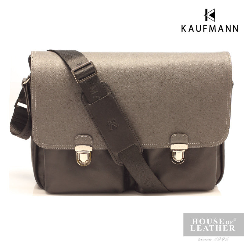 KAUFMANN McLaren M140959F Sling Bag - Black - Leatherhouse2u  - 2
