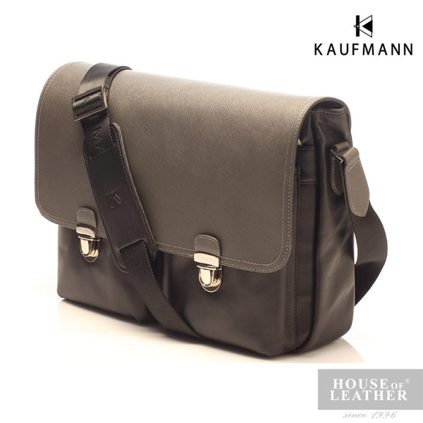 KAUFMANN McLaren M140959F Sling Bag - Black - Leatherhouse2u  - 3
